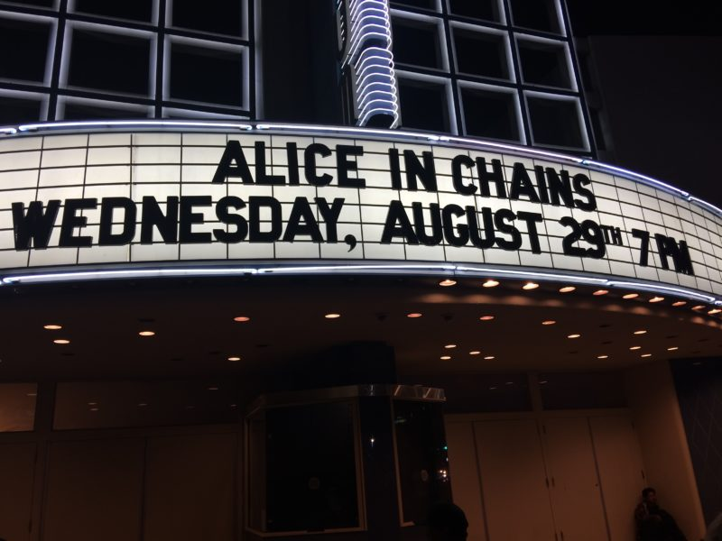 ALICE IN CHAINS  POWER SURGE RAMPAGE@HOLLYWOOD PALLADIUM